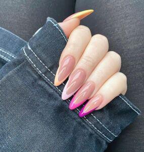 Γαλλικό με Χρώμα νύχια 2021 - Irida spa