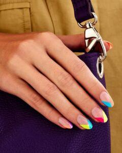 Πολύχρωμο Μανικιούρ νύχια 2021 - Irida spa